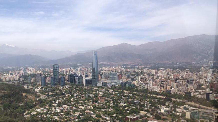 Vista do teleférico de San Cristóbal