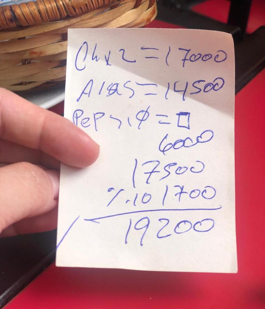 Quanto custa alimentação no Chile