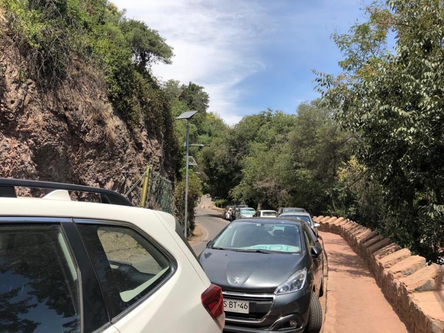Estacionamento Cerro San Cristóbal