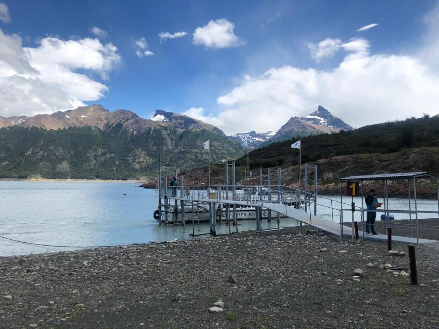 Ponto de encontro Hielo y Aventura Perito Moreno