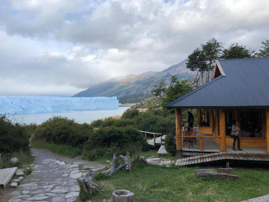 estrutura em Perito Moreno