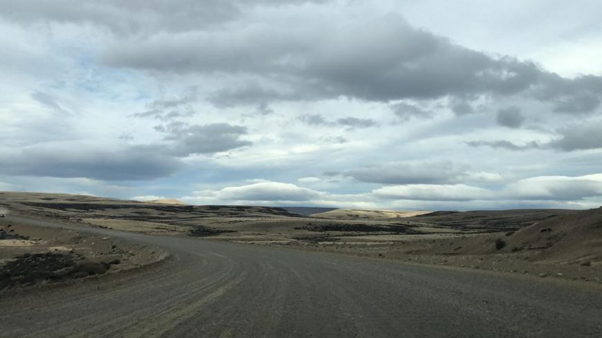 Trecho de rípio na ruta 40