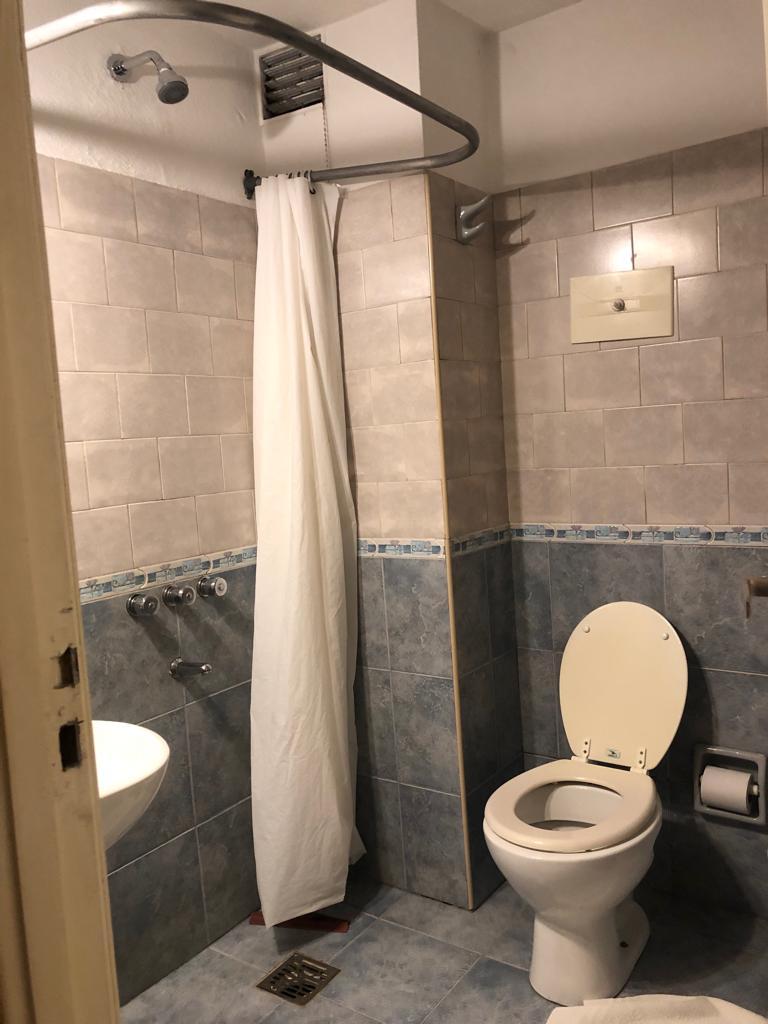 Banheiro Hotel Hernandarias em Santa Fé