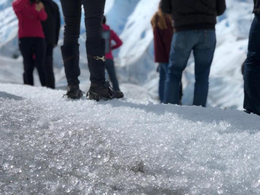 trekking na geleira