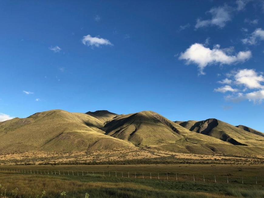 montanhas em el calafate