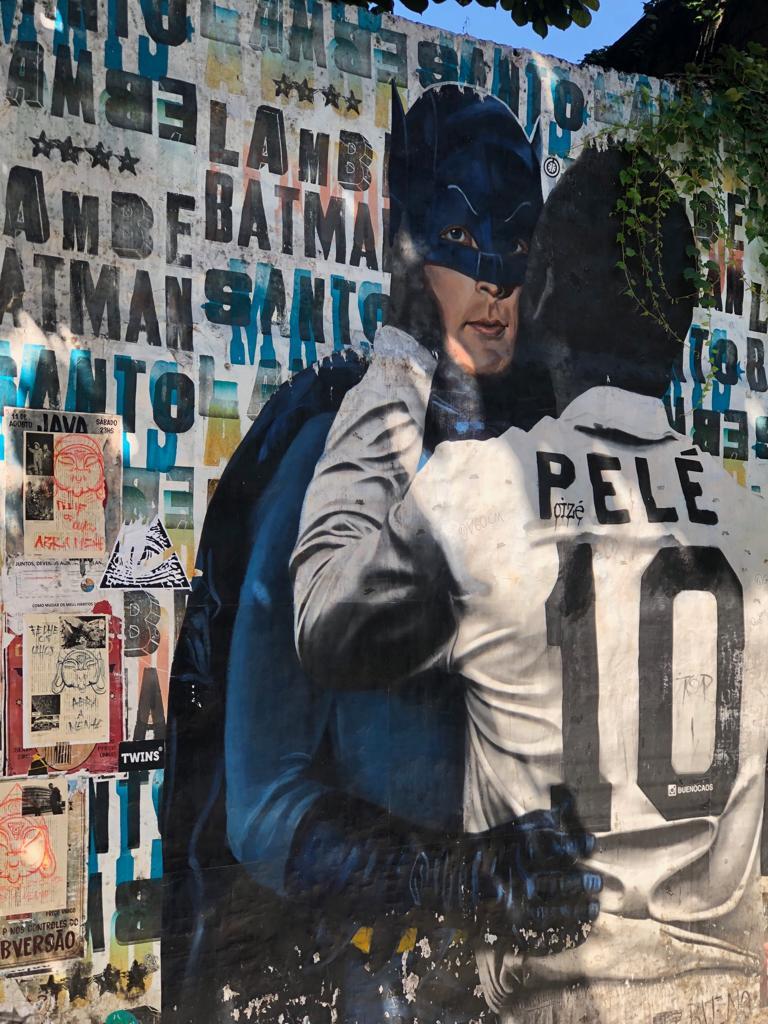 Pelé e Batman