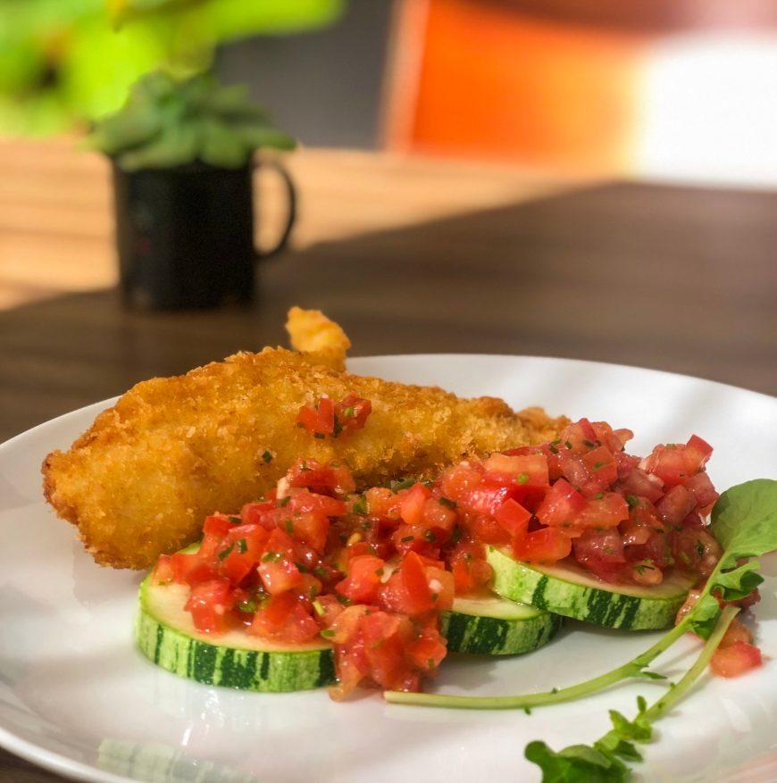 peixe a milanesa restaurante pacífico itaperubá