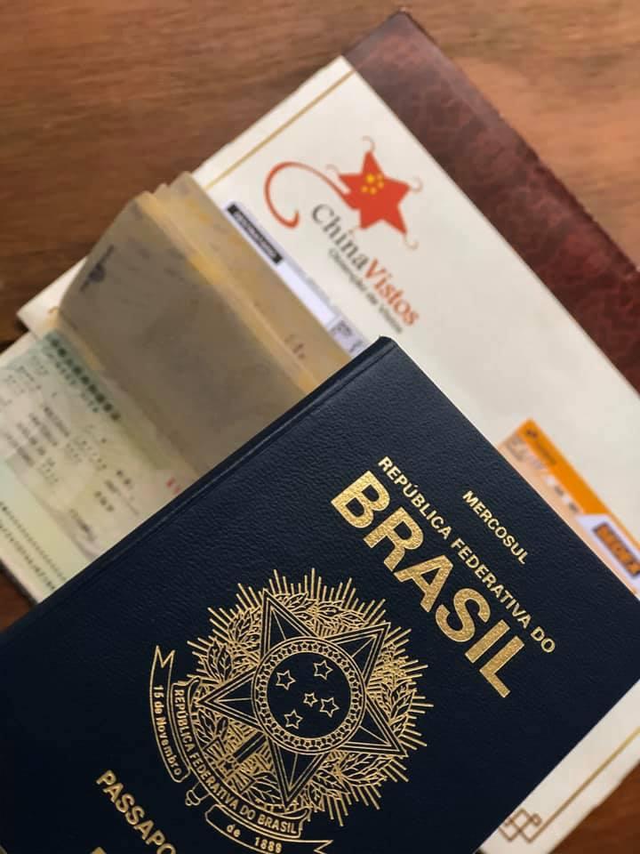 vistos e passaportes para a china