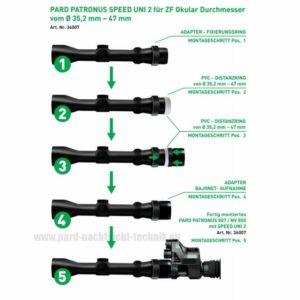 PARD NV007a Speed Uni 3 Universal Adapter