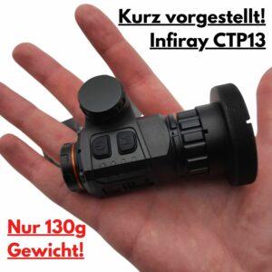Iray CTP13 Clip On Wärmebildvorsatzgerät