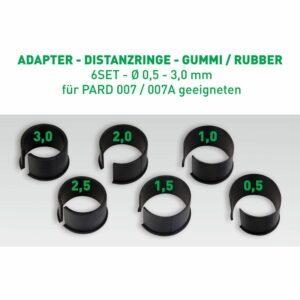 PARD Distanzringe Set (für PARD Standart Alu-Adapter)