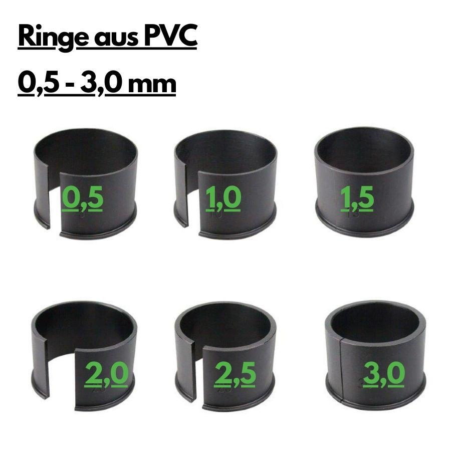 PVC Distanzringe PARD