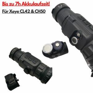 Xeye IEB-2 Akku-Gehäuse (CL42 / CH50, ohne Akkus!)