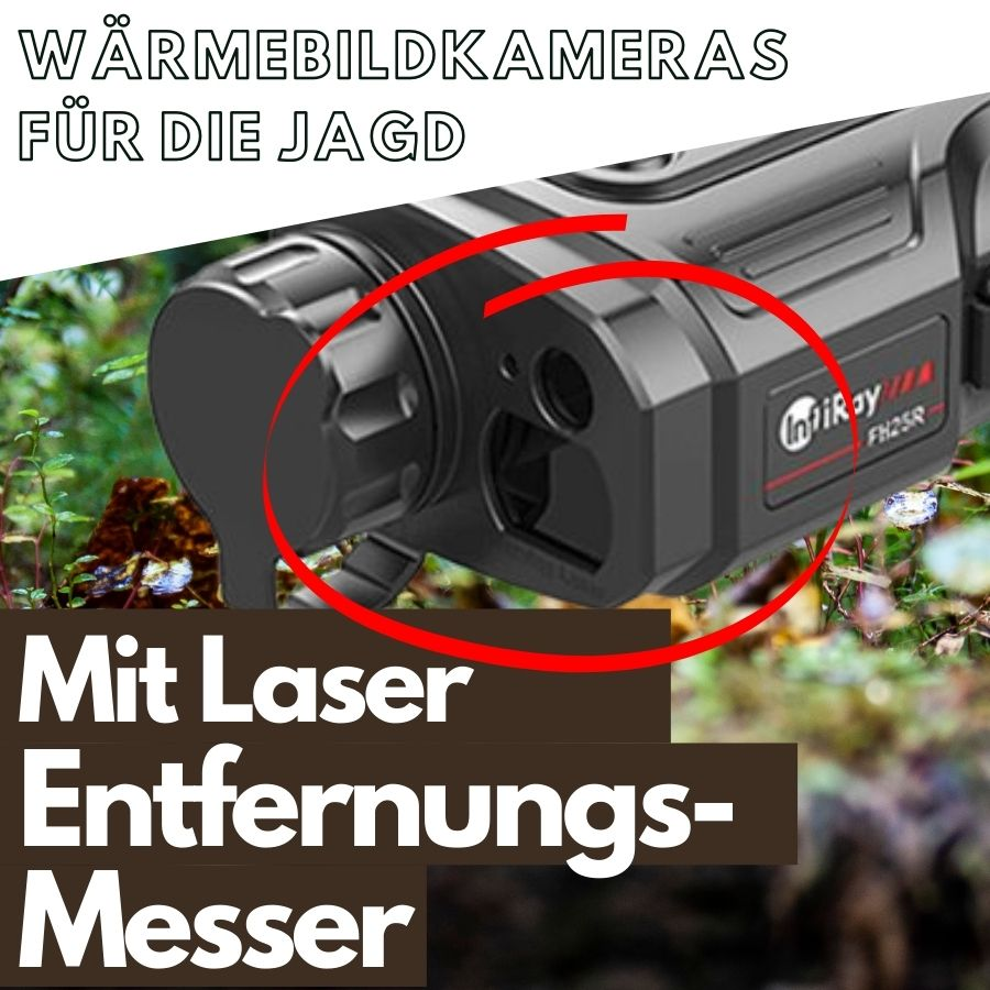 Wärmebildkameras für die Jagd mit Laserentfernungsmesser - Thumbnail picture