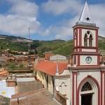 Foto: Panorámica desde el centro de Vallegrande