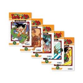 DRAGON BALL, primeros 5 volúmenes de la serie