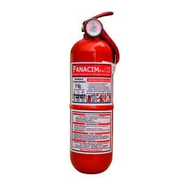 Extintor de polvo químico seco tipo ABC de 1Kg