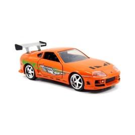Fast&Furious Brian's Toyota Supra diecast escala 1:24
