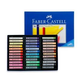 Caja de 36 tizas pastel Faber-Castell