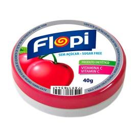 Caramelos duros sin azúcar Flopi, sabor cereza