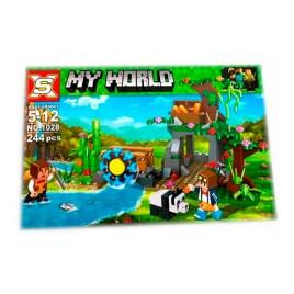 Juego de construcción NO. 1028 – My World