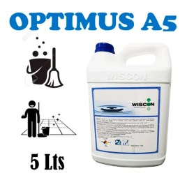 Detergente desinfectante, limpiador y aromatizante de pisos Wiscon OPTIMUS-5
