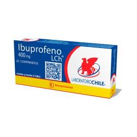 Ibuprofeno Chile, blister con 20 comprimidos de 400mg