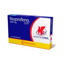 Ibuprofeno Chile, blister con 20 comprimidos de 600mg