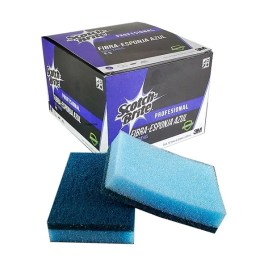 Esponja fibra azul profesional Scotch-Brite