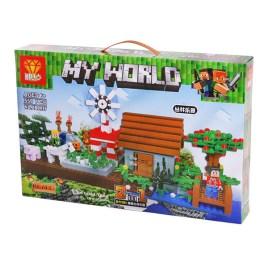 Juego de construcción My World 2 en 1
