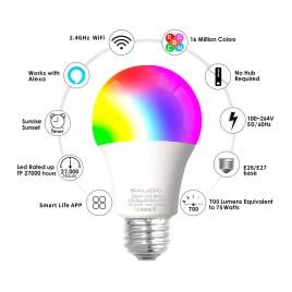 Foco inteligente Smart OhLux, luz RGB con 16 millones de combinaciones