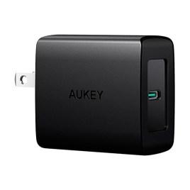 Cargador USB-C 27W Aukey