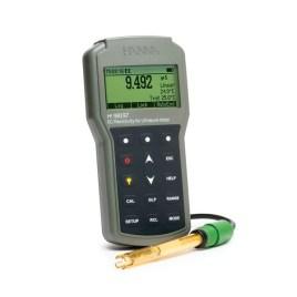 Hanna Instruments Medidor portátil impermeable de CE/Resistividad en agua ultra pura
