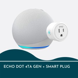 Combo EchoDot 4ª generación + enchufe GoSund