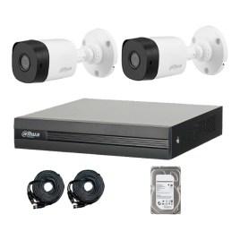 Kit videovigilancia con 2 cámaras HD Dahua Technology