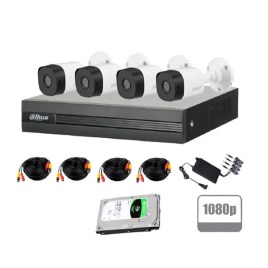 Kit videovigilancia con 4 cámaras HD Dahua Technology