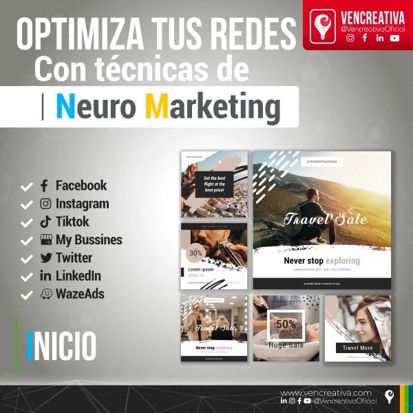 VenCreativa, Desarrollamos tus redes sociales con técnicas de neuro-marketing. Facebook, Instagram, LinkedIn, Ticktock, My Business, WazeAds, Google Ads,