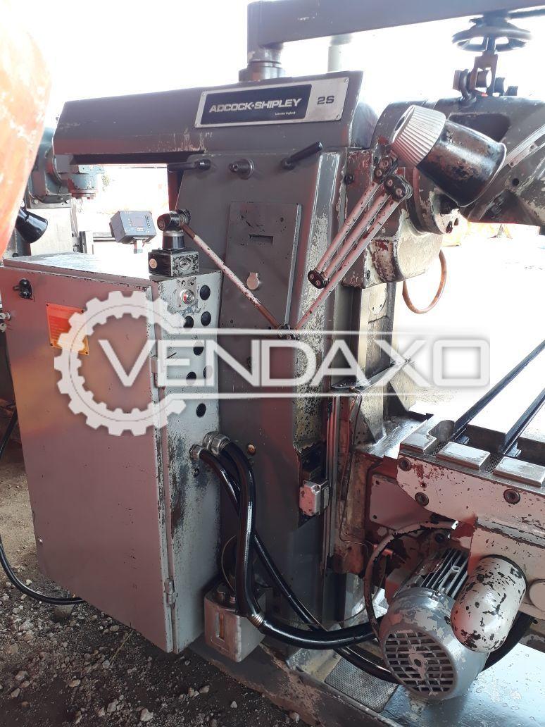 Adcock Shipley 2s Milling Machine