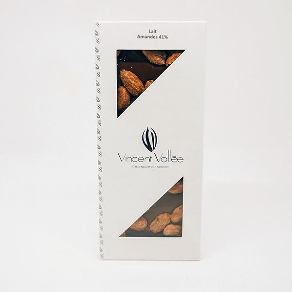 chocolat lait et amandes vincent vallée