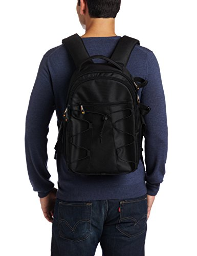 AmazonBasics Backpack for SLR/DSLR Cameras and Accessories - Black - VendeTodito