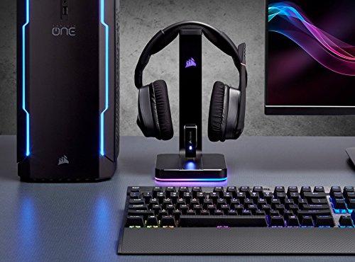 Corsair Gaming ST100RGB Premium soporte para auriculares con sonido envolvente 7.1 - VendeTodito