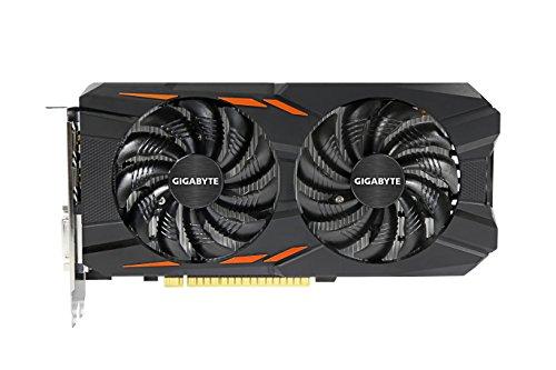 Gigabyte GV-N1050WF2OC-2GD Tarjeta Gráfica, NVIDIA, GeForce GTX 1050, 7680 x 4320 Pixeles - VendeTodito