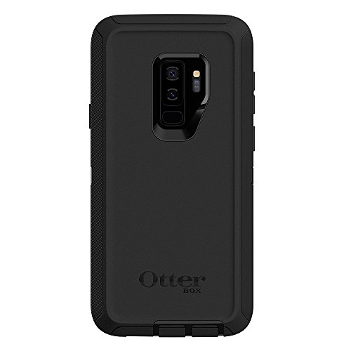 OtterBox DEFENDER SERIES Case for Samsung Galaxy S9+ - Retail Packaging - BLACK - VendeTodito