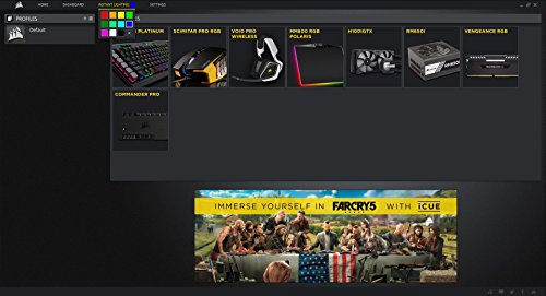 Corsair Strafe RGB Teclado Mecánico con Iluminación LED, USB - VendeTodito