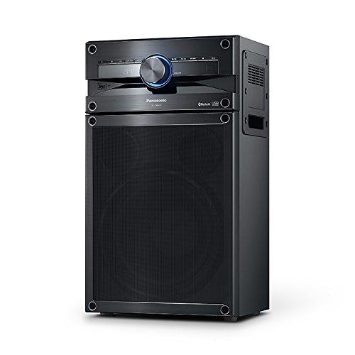 Panasonic SC-CMAX1LM-K Bocina Portátil, 2200W PMPO, 200W RMS, Bluetooth, MP3, USB, Entrada Auxiliar, FM - VendeTodito