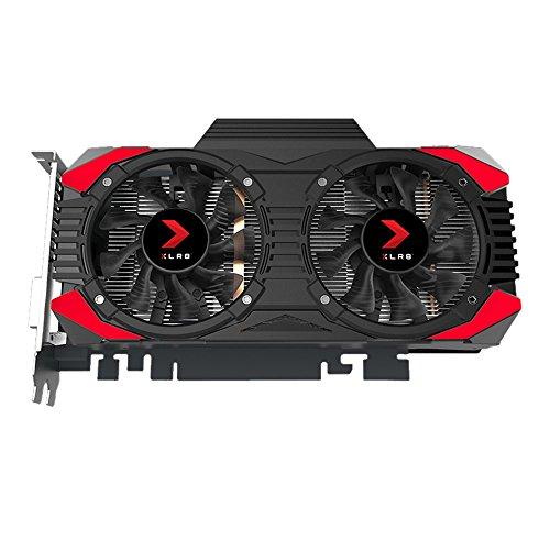 PNY GeForce GTX 1060 XLR8 Gaming OC GeForce GTX 1060 6GB GDDR5 - Tarjeta gráfica (GeForce GTX 1060, 6 GB, GDDR5, 192 Bit, 7680 x 4320 Pixeles, PCI Express x16 3.0) - VendeTodito