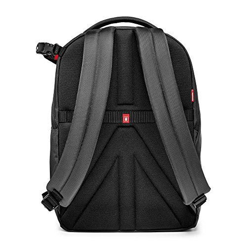 Manfrotto MB NX-BP-VGY Backpack for DSLR Camera, Laptop & Personal Gear (Grey) - VendeTodito