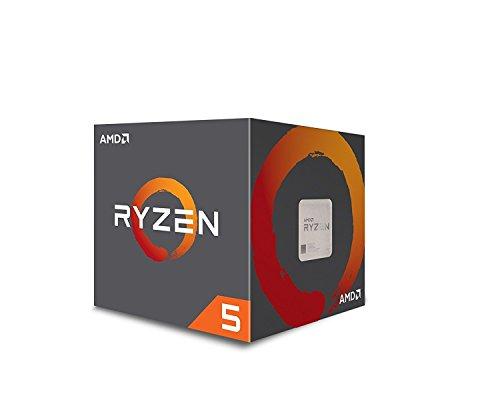 AMD YD1400BBAEBOX - Procesador Ryzen 5 1400, 3.2Ghz/3.4GHz Turbo, 4 núcleos, 8 hilos, 8MB Caché L3, Socket AM4, 65W, Incluye disipador Wraith Stealth - VendeTodito