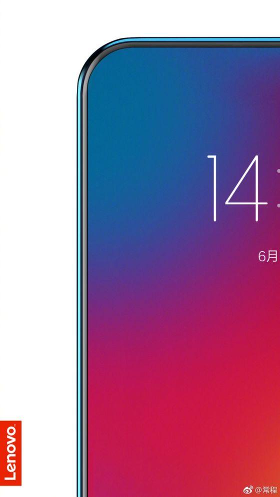 """Lenovo se burla de lo que podría ser el primer teléfono verdadero de """"pantalla completa"""""""