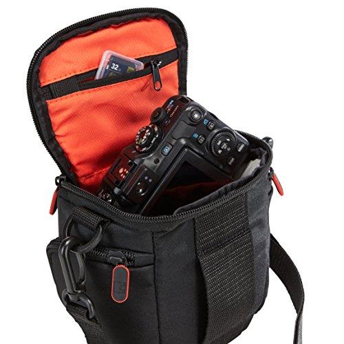 Case Logic DCB-304 Compact System/Hybrid Camera Case (Black) - VendeTodito